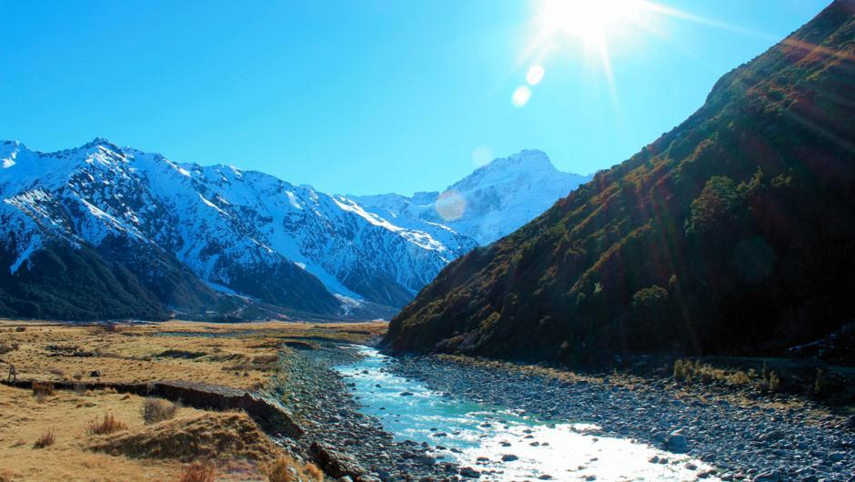 Mt Cook & Tasman Glacier