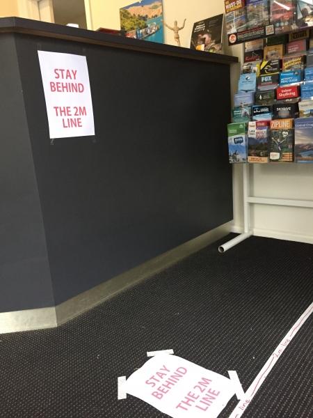 オフィスの床