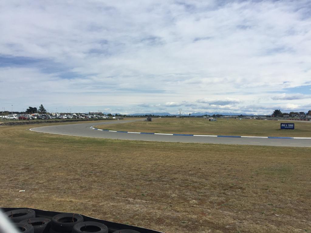 Racecourse at Ruapuna