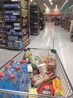 スーパーマーケットでの買い物